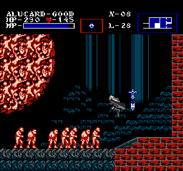 Castlevania Symphony of the Night Konami NES Pixel Art Xtreme Retro 11