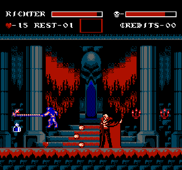 Castlevania Symphony of the Night Konami NES Pixel Art Xtreme Retro 2