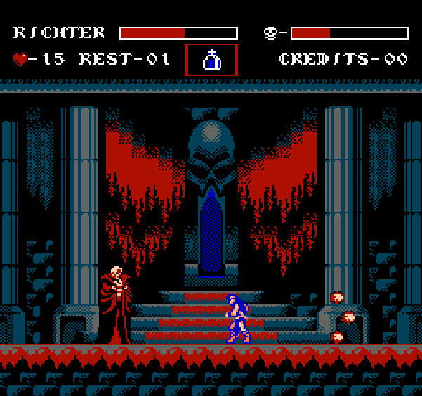 Castlevania Symphony of the Night Konami NES Pixel Art Xtreme Retro 3