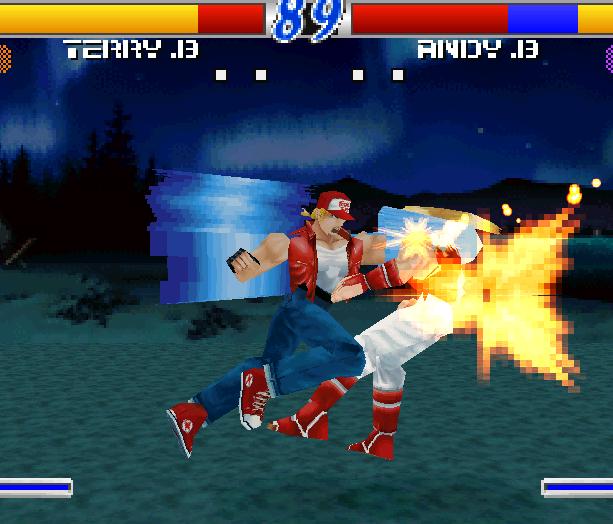 Fatal Fury Wild Ambition SNK PSX Xtreme Retro 1