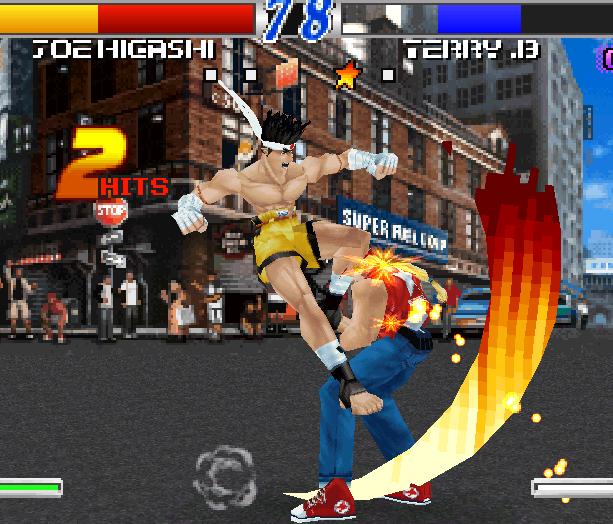 Fatal Fury Wild Ambition SNK PSX Xtreme Retro 4