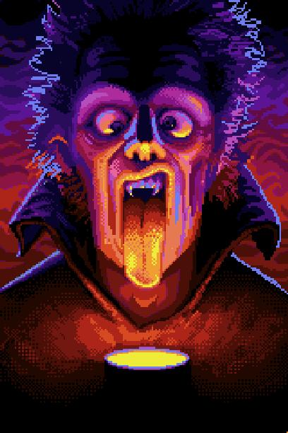 Nosferatu Super Nintendo Pixel Art Xtreme Retro