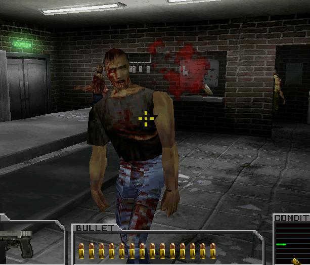 Resident Evil Survivor Capcom PSOne Xtreme Retro 4