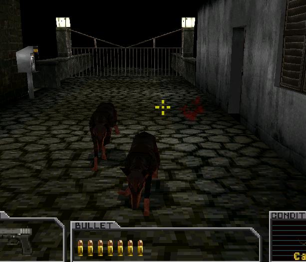 Resident Evil Survivor Capcom PSOne Xtreme Retro 7