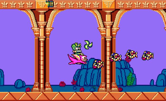 Wonder Boy III MOnsters Lair Sega Westone Arcade Genesis Mega Drive PC Engine Turbografx Xtreme Retro 7