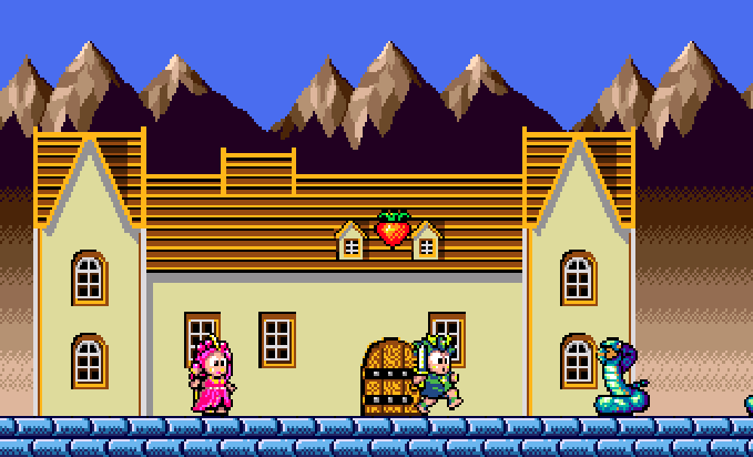 Wonder Boy III Monsters Lair Sega Westone Arcade Genesis Mega Drive PC Engine Turbografx Xtreme Retro 3