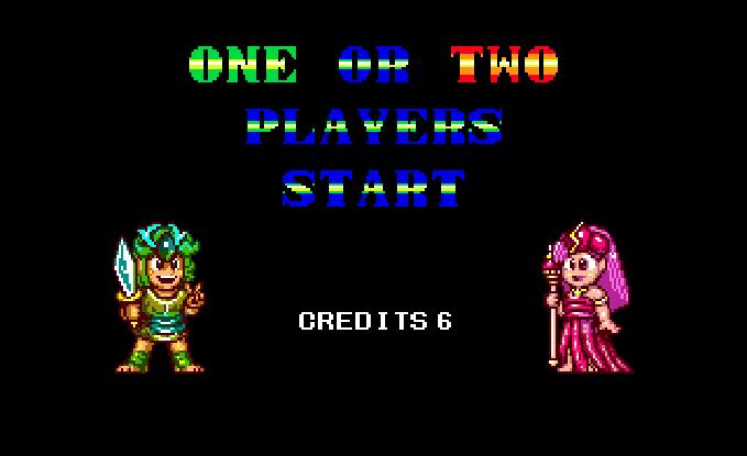 Wonder Boy III Monsters Lair Sega Westone Arcade Genesis Mega Drive PC Engine Turbografx Xtreme Retro 6