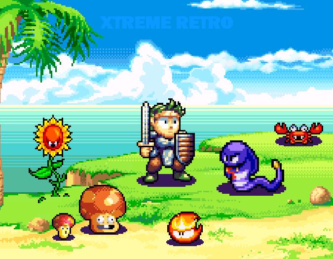 Wonder Boy III Westone Sega Arcade Mega Drive Genesis PC Engine Turbografx Pixel Art Xtreme Retro