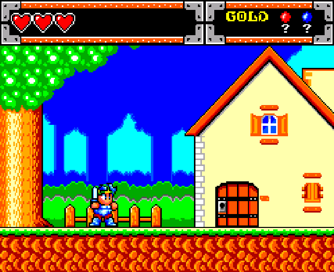 Wonder Boy in Monster World Master System Xtreme Retro 2