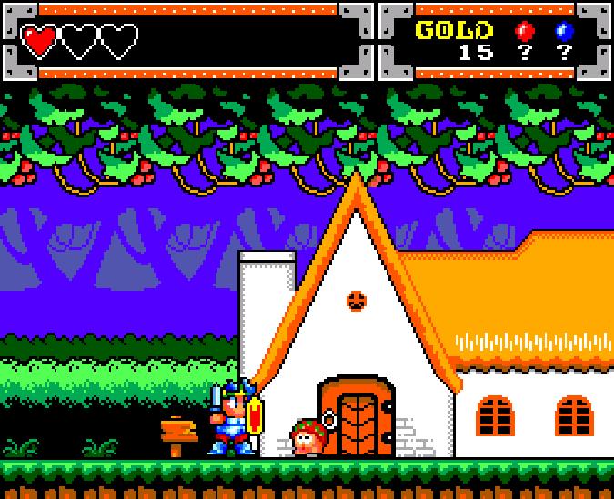 Wonder Boy in Monster World Master System Xtreme Retro 5
