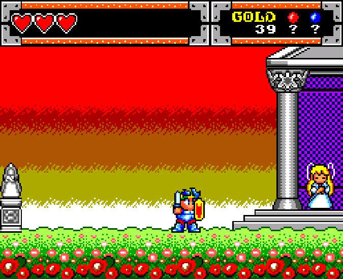 Wonder Boy in Monster World Master System Xtreme Retro 6