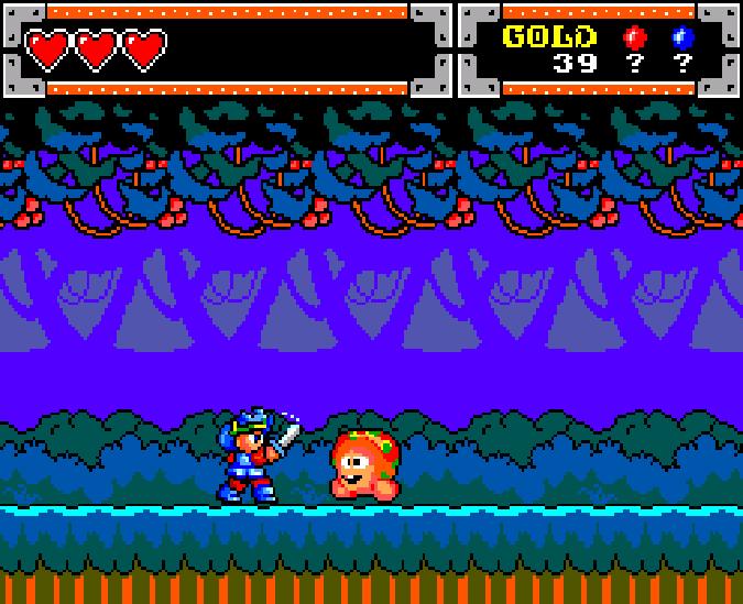 Wonder Boy in Monster World Master System Xtreme Retro 7