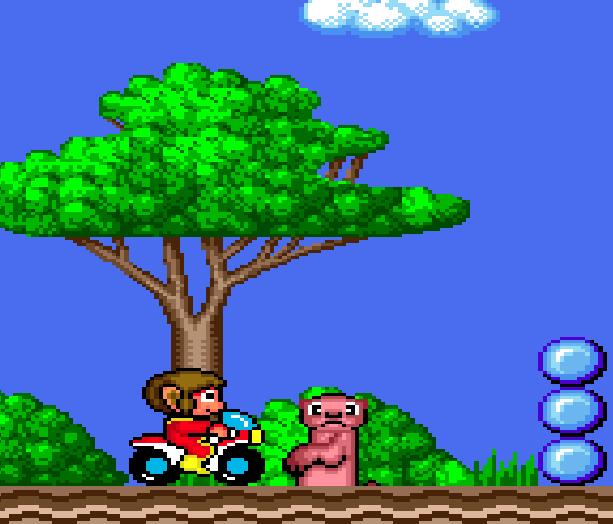 Alex Kidd in the Enchanted Castle Sega Genesis Mega Drive Xtreme Retro 1