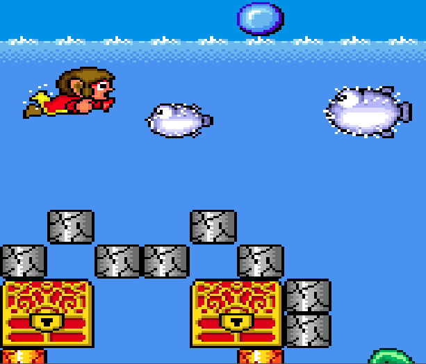 Alex Kidd in the Enchanted Castle Sega Genesis Mega Drive Xtreme Retro 2