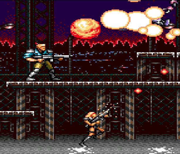 Contra Hard Corps Konami Sega Genesis Mega Drive Xtreme Retro 1