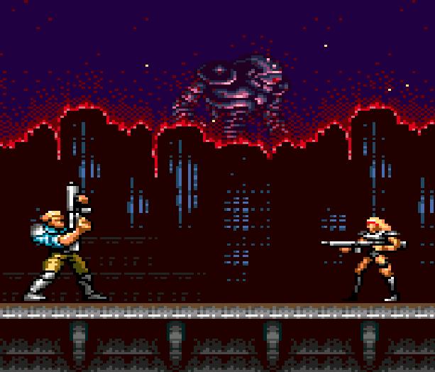 Contra Hard Corps Konami Sega Genesis Mega Drive Xtreme Retro 2