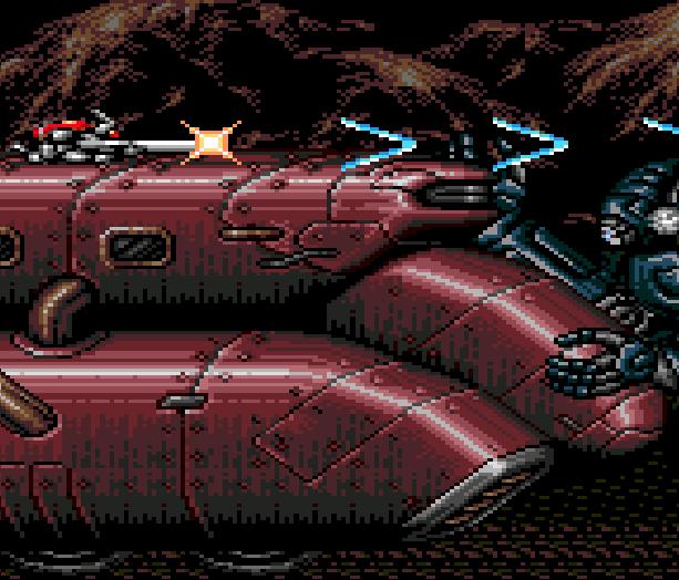 Contra Hard Corps Konami Sega Genesis Mega Drive Xtreme Retro 5