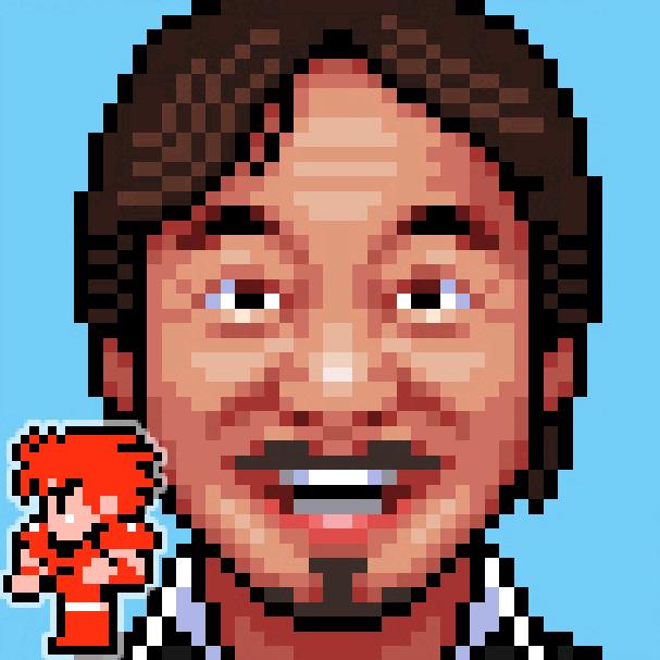 Hironobu Sakaguchi Final Fantasy 8 bit Pixel Art Xtreme Retro RPG