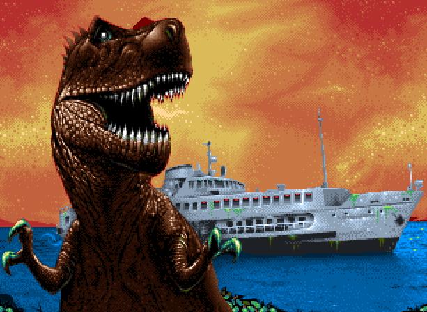 Jurassic Park 2 The Lost World Appaloosa Interactive Sega Genesis Mega Drive Pixel Art Xtreme Retro