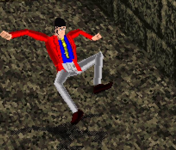 Lupin the 3rd the Sage of Pyramid Sega Saturn Xtreme Retro 18