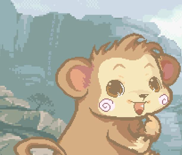 Super Monkey Ball Game Boy Advance SEGA Pixel Art Xtreme Retro