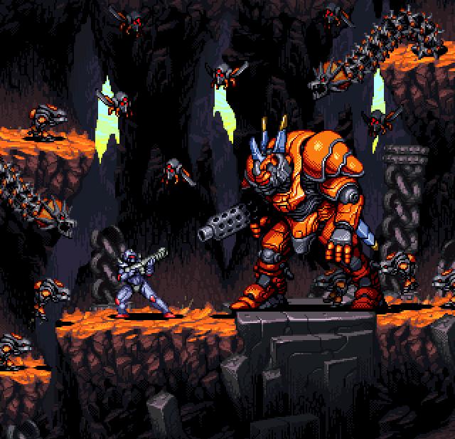Super Turrican 2 SNES Pixel Art Xtreme Retro