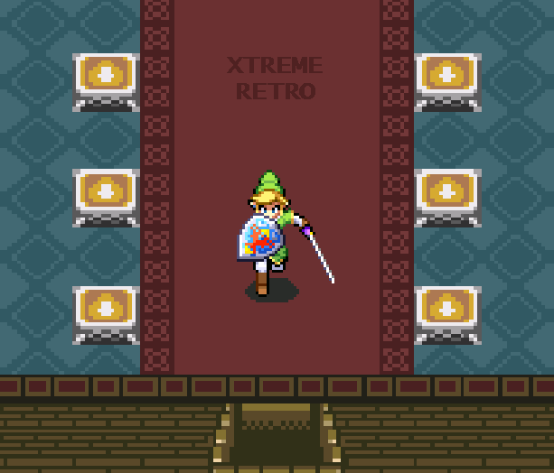 The Legend of Zelda A Link to the Past SNES CD Pixel Art Xtreme Retro 1