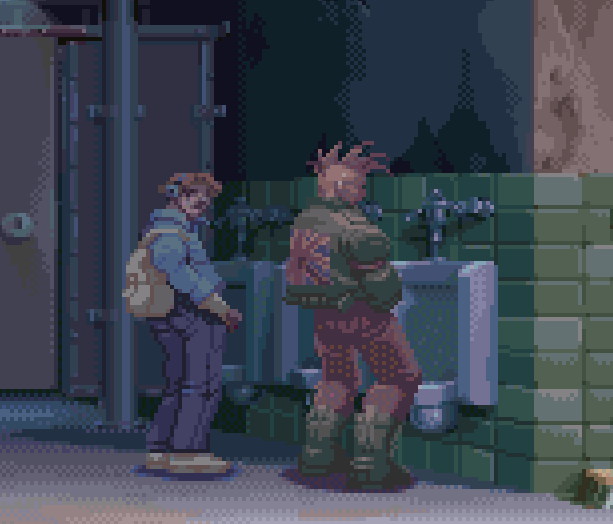 Toilet Pixel Art Xtreme Retro