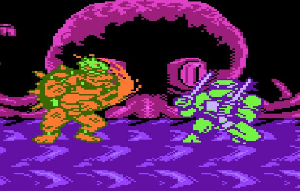 World Heroes 2 Famicom Pirate Game King Bowser VS Ninja Turtle Leonardo Xtreme Retro