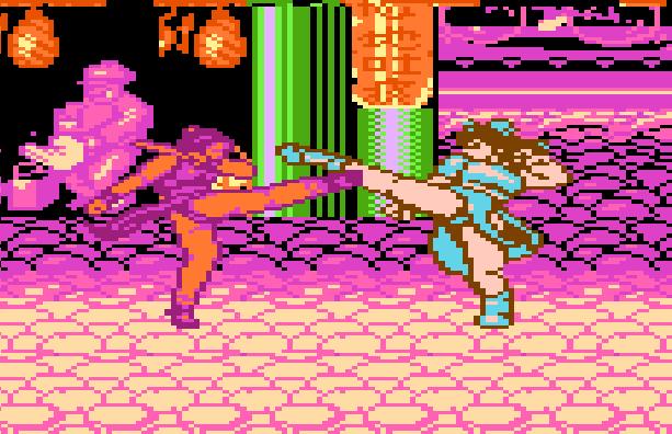 World Heroes 2 Famicom Pirate Game Mai Shiranui KOF VS Chun LI Street Fighter Xtreme Retro