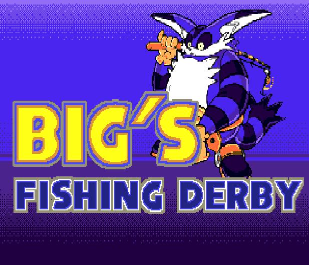 Bigs Fishing Derby Sega Genesis Mega Drive Sonic Hack Xtreme Retro 1