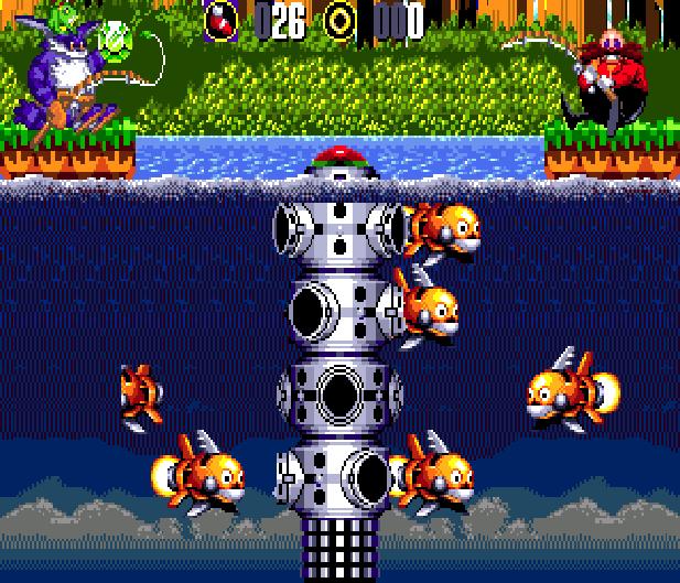 Bigs Fishing Derby Sega Genesis Mega Drive Sonic Hack Xtreme Retro 13