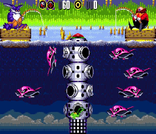 Bigs Fishing Derby Sega Genesis Mega Drive Sonic Hack Xtreme Retro 15