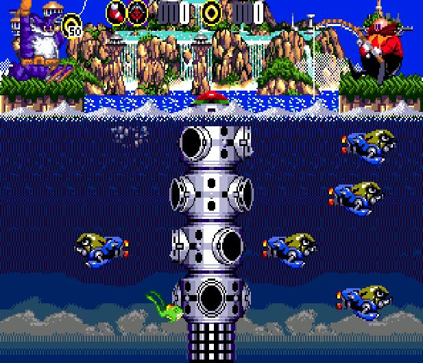 Bigs Fishing Derby Sega Genesis Mega Drive Sonic Hack Xtreme Retro 16
