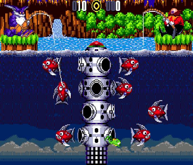 Bigs Fishing Derby Sega Genesis Mega Drive Sonic Hack Xtreme Retro 2