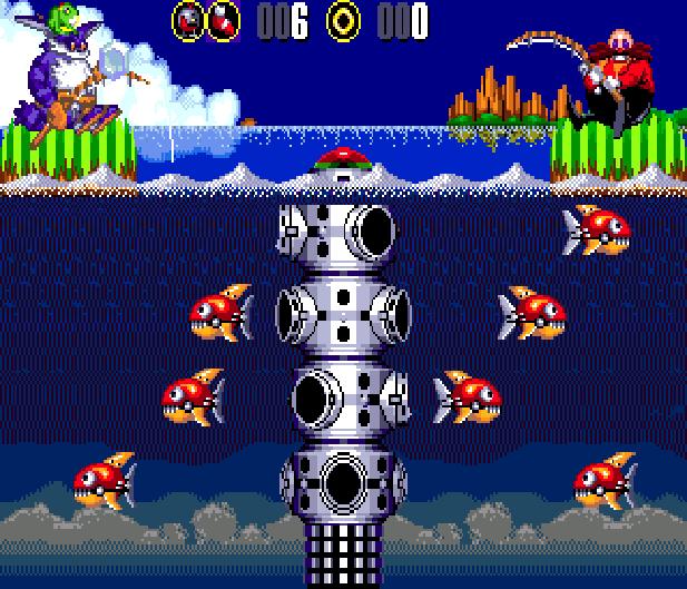 Bigs Fishing Derby Sega Genesis Mega Drive Sonic Hack Xtreme Retro 4