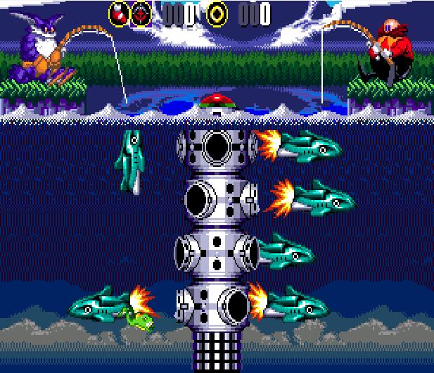 Bigs Fishing Derby Sega Genesis Mega Drive Sonic Hack Xtreme Retro 8