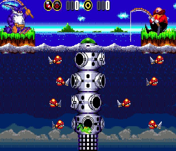 Bigs Fishing Derby Sega Genesis Mega Drive Sonic Hack Xtreme Retro 9
