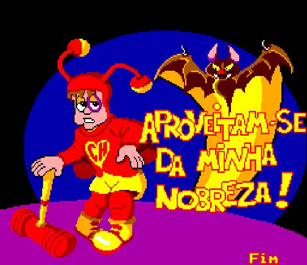 Chapolim x Dracula Um Duelo Assustador Master System Tectoy Xtreme Retro 8