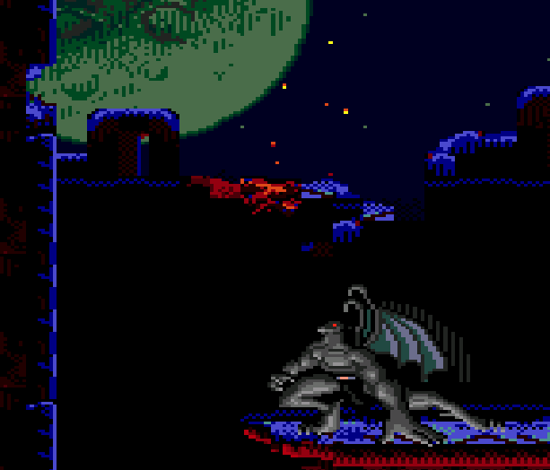 Gargoyles Sega Genesis Mega Drive Xtreme Retro 10