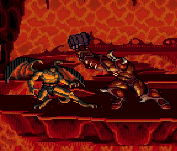 Gargoyles Sega Genesis Mega Drive Xtreme Retro 11