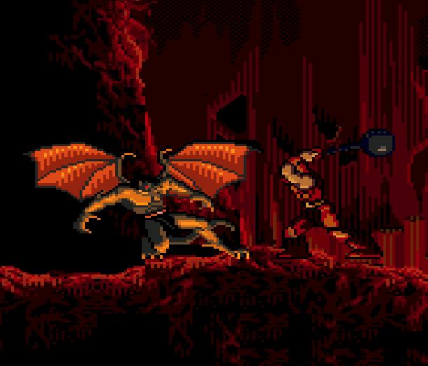 Gargoyles Sega Genesis Mega Drive Xtreme Retro 2
