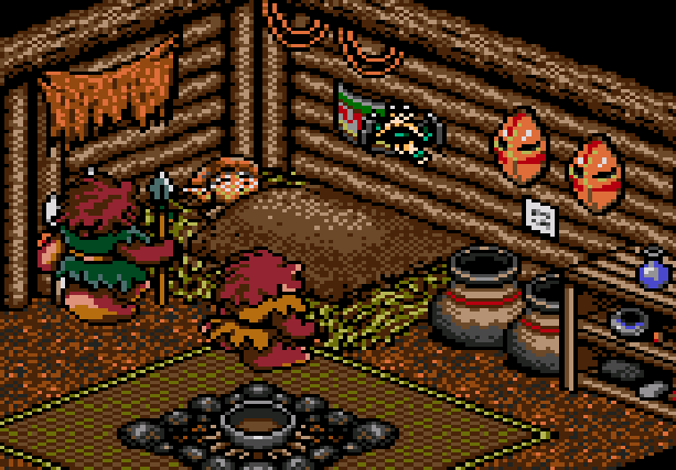 Landstalker The Treasures of King Nole Climax Entertainment Sega Genesis Mega Drive RPG Xtreme Retro 14