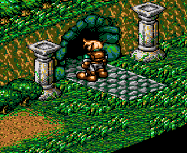 Landstalker The Treasures of King Nole Climax Entertainment Sega Genesis Mega Drive RPG Xtreme Retro 17