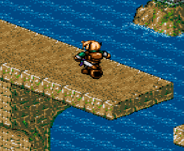 Landstalker The Treasures of King Nole Climax Entertainment Sega Genesis Mega Drive RPG Xtreme Retro 2