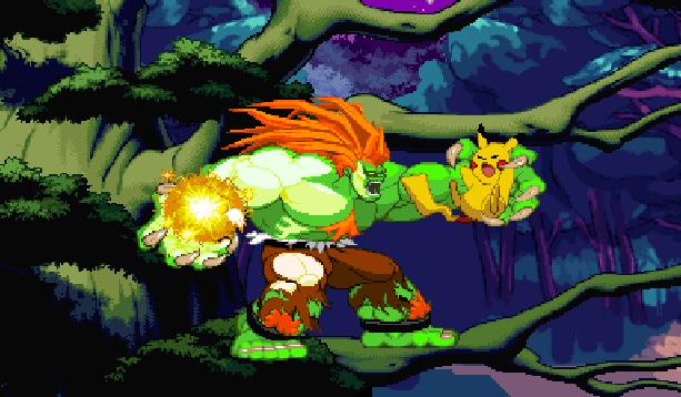 Pokemon Type Wild Pixel Art Xtreme Retro Fangame Fighting