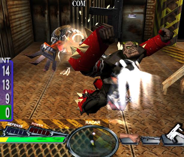 Spawn in Demons Hand Capcom Sega Dreamcast Xtreme Retro 10