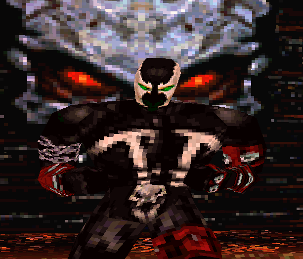 Spawn the Eternal Sony PlayStation Todd McFarlane Xtreme Retro 1