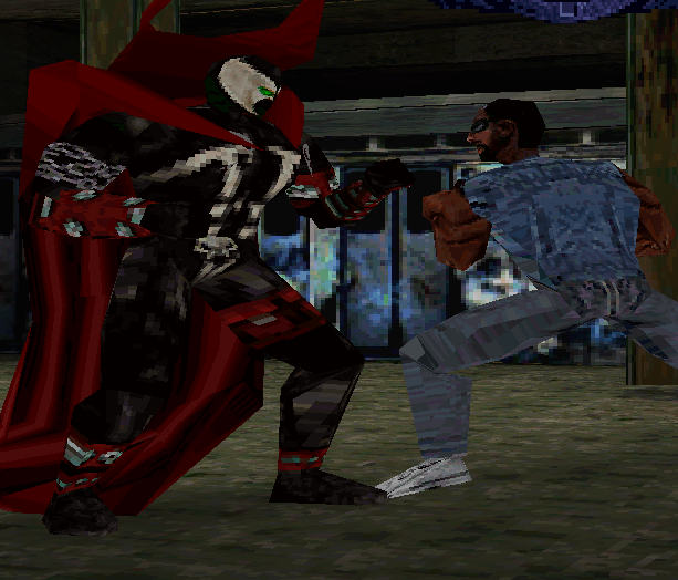 Spawn the Eternal Sony PlayStation todd McFarlane Xtreme Retro 3