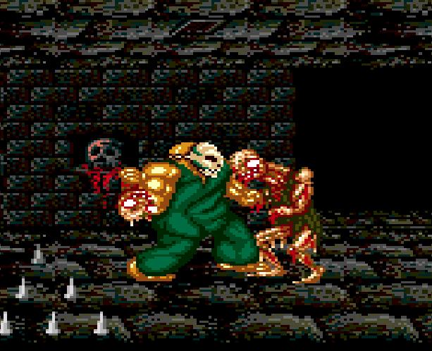 SplatterHouse 2 Namco Sega Genesis Mega Drive Xtreme Retro 15A